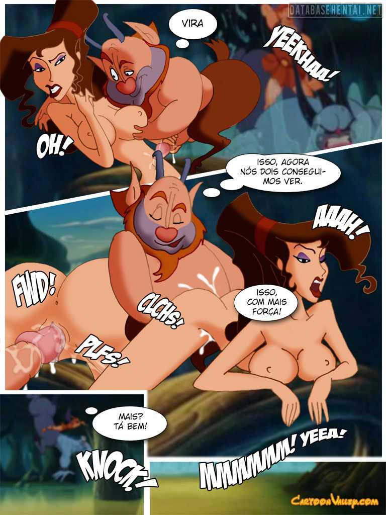 [Hercules] Phil Gets Lucky hentai colorido
