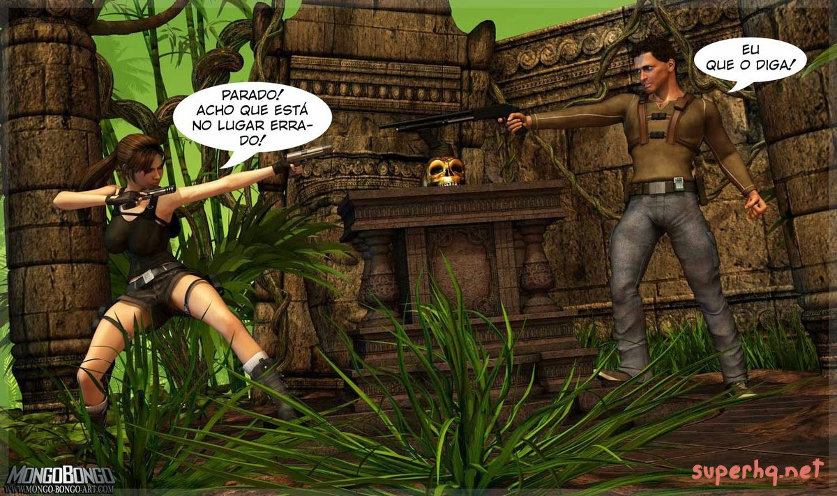 Tomb Raider e Uncharted