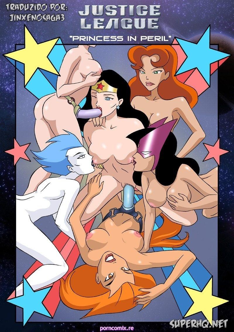 Justice League Princess