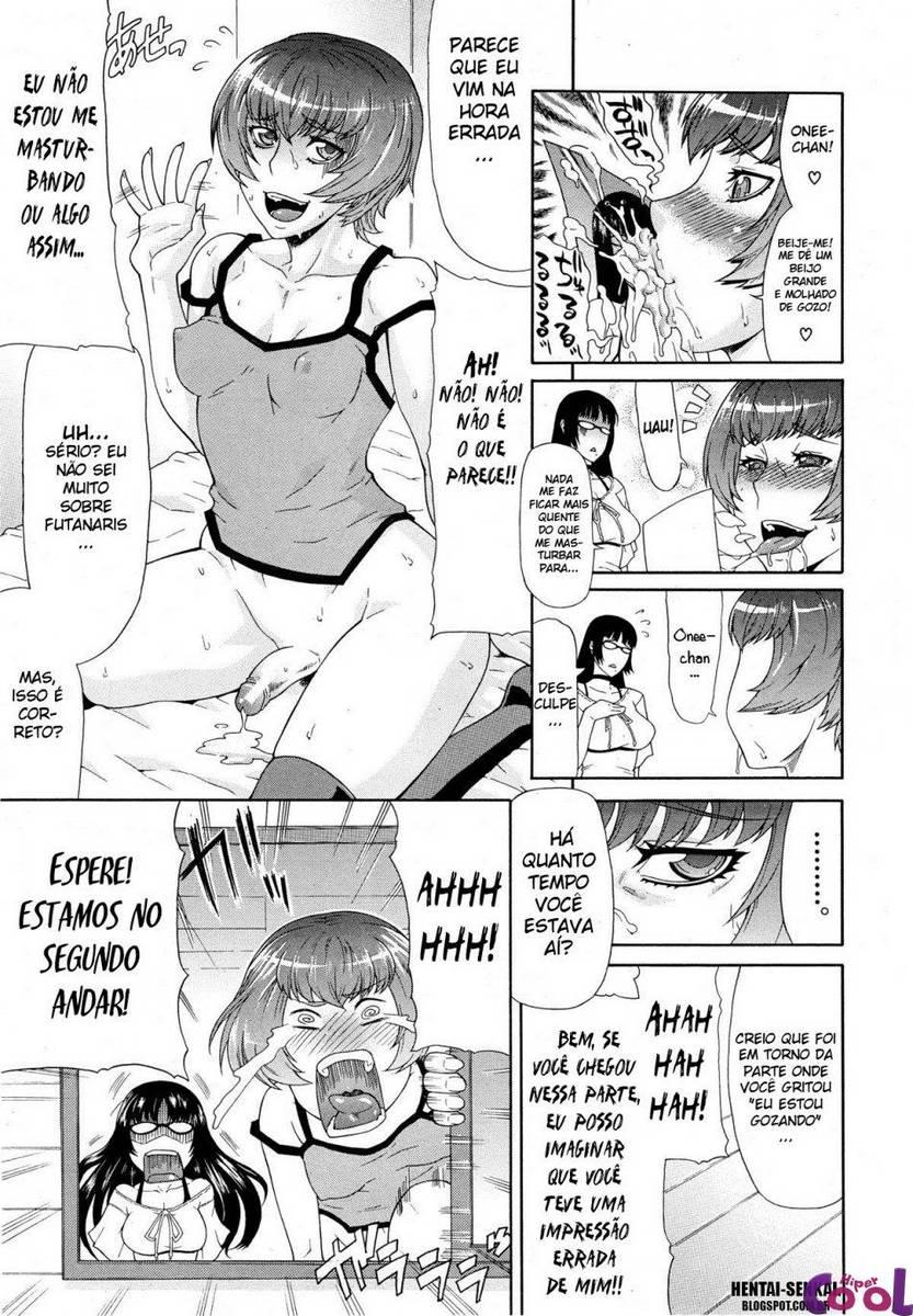 Hentai Sister Sister, punheta futanari