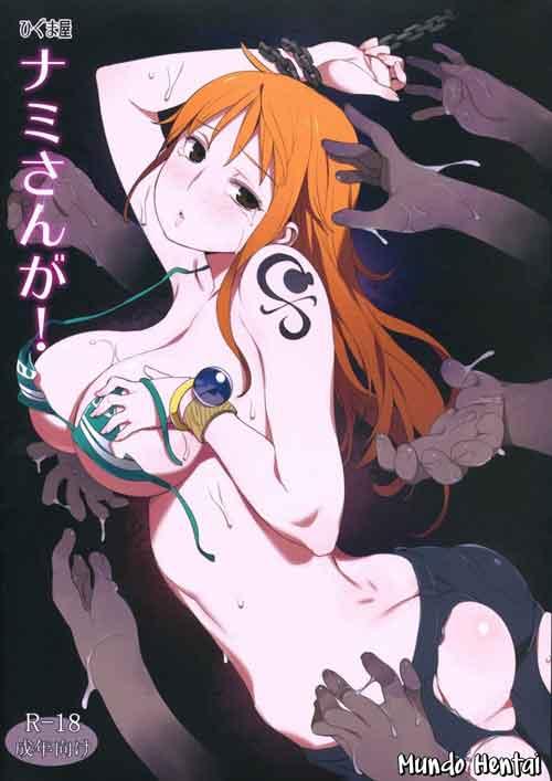 One Piece, hentai Nami fodendo com machos