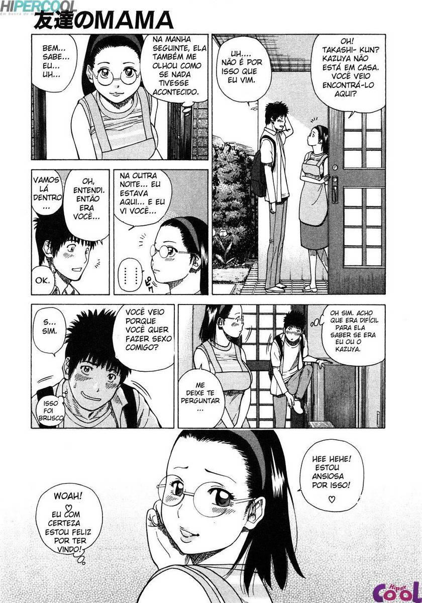 Hentai Comendo a mãe do amigo