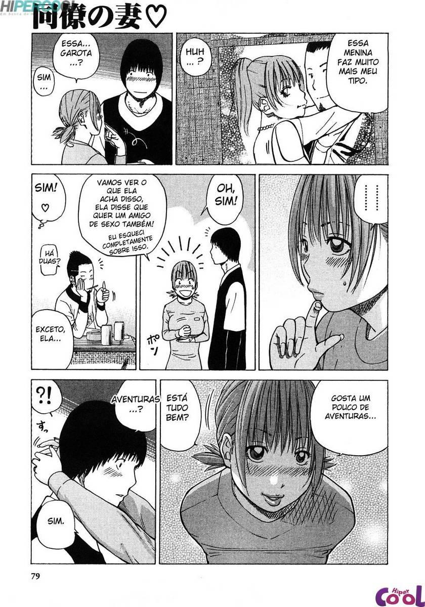 Hentai Comendo a mulher do amigo
