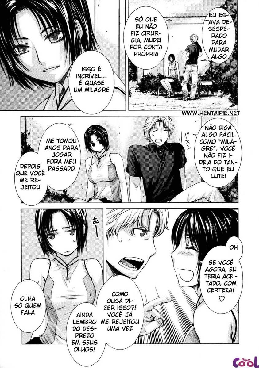 Hentai Deprives, sexo com amor de infância