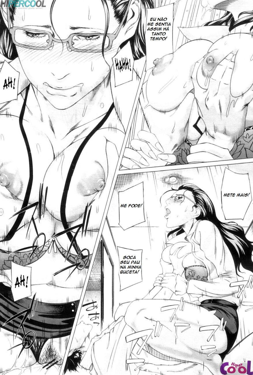 Kaa-san No Ijyou, comendo o cu da mãe 2