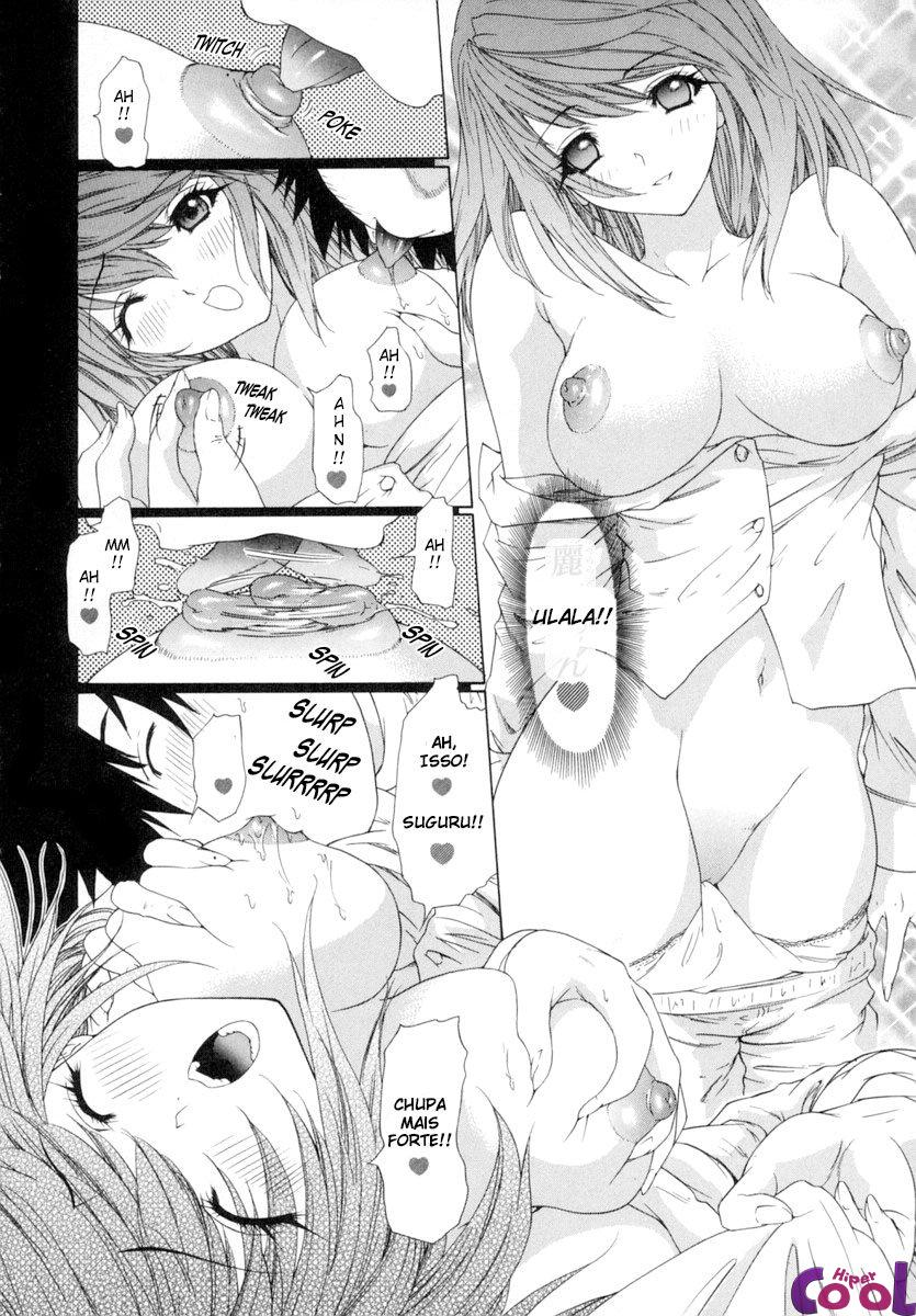 Hentai Primeira noite dormindo junto
