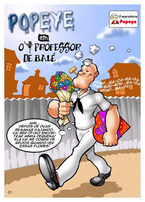 Popeye – O professor de balé