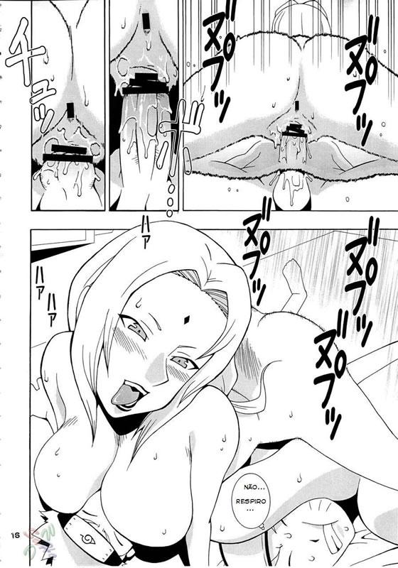 Naruto fazendo porno com tsunade