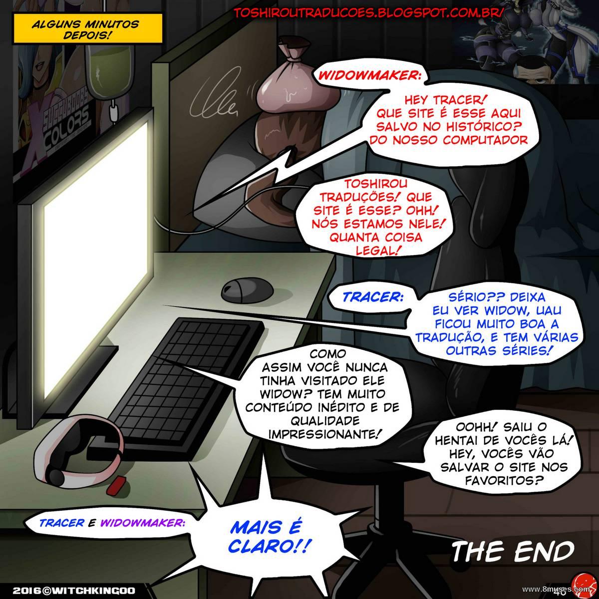 Overwatch hentai – A vingança Nerd Completo