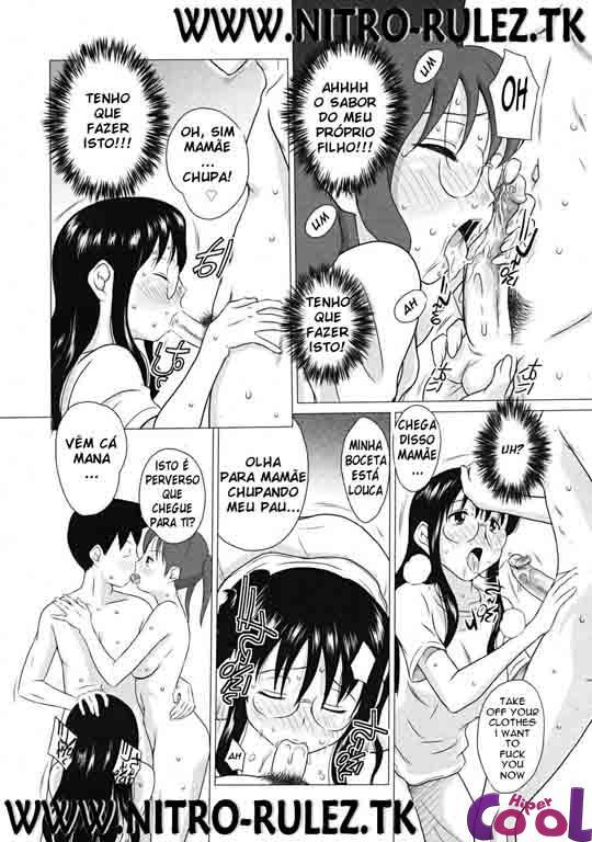 Sexo na família sacana