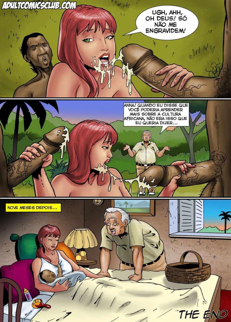 Trepando com empregados – quadrinhos porno