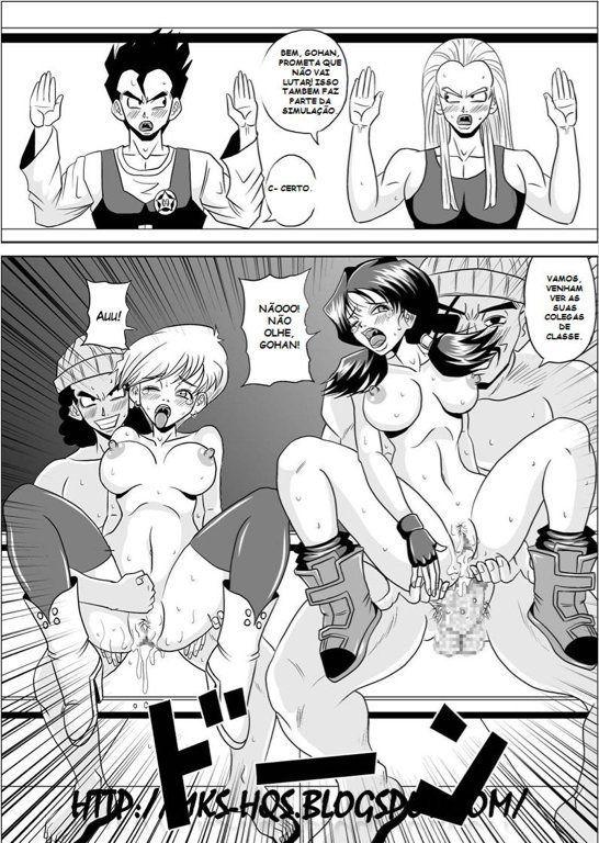 High School Rape - Dragon Ball