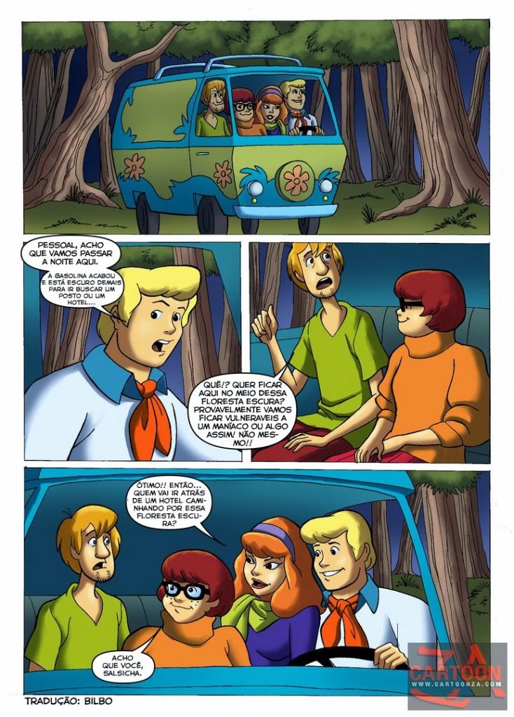 Suruba na floresta – Scooby Doo