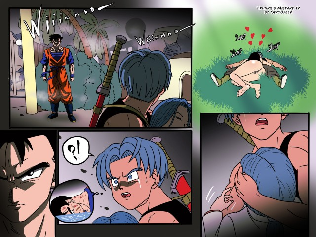 O erro de Trunks - Dragon Ball