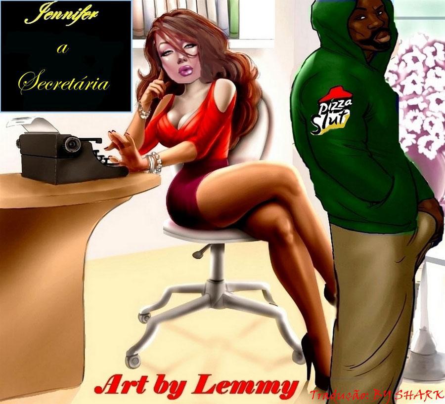 Jeniffer uma secretária gostosa