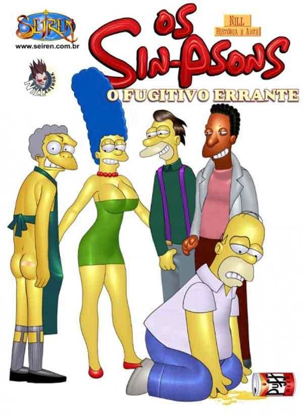 O fugitivo errante 01 – Simpsons